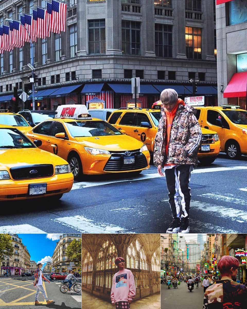 旅行でインスタ映えするストリートファッションの服